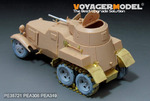 WWII Soviet BA-10 Armored Vehicle Basic(For hobby boss 83840)