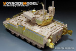 Modern US Army M3A3 BRADLEY w/BUSK III IFV Basic (Gun barrel ,smoke discharger include) (For MENG SS
