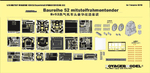 Photo Etched set for 1/35 Baureihe 52 mit steifrahmentender (For TRUMPETER 00210)