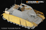 1/35 WWII German Sturmpanzer IV Brummbar Mid Version Side Skirts (For DRAGON 6460)
