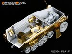 1/35 WWII German Sd.Kfz.250 NEU Stowage Bins & Fenders (For DRAGON Kit)