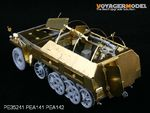 1/35 WWII German Sd.Kfz.250 NEU Amour Plate (For DRAGON Kit)