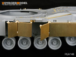 1/35 Modern US Army M1A1&M1A2 side skirts (For DRAGON 3535/3536)