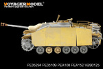 1/35 WWII German StuG.III Ausf.G Late Production Side Skirts Pattern 1 (For DRAGON Kit)