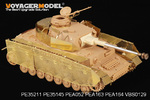 "1/35 WWII German Panzer.IV Ausf.J ""Thoma shields"" wire mesh schürzen (For All)"