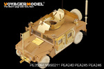 1/35 Modern HUMVEE Family Bullet-Proof Door (For TAMIYA /BRONCO)