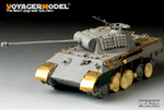 WWII German Panther A/G/F、JagdPanzer Demeged  Road wheels(GP)