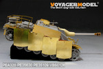 WWII German StuG.III Ausf.G Final version Pivot-Mounting Swinging Type Hull Side Armour Skirts(For D