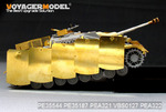 WWII German StuG.IV  Pivot-Mounting Swinging Type Hull Side Armour Skirts(For DRAGON )