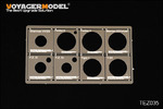 1/48 WWII AFV Road Wheels Stenciling Templates (For TAMIYA)