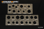 1/35 WWII AFV Road Wheels Stenciling Templates (For DRAGON)