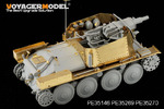 1/35 WWII German Aufklarungspanzer 38(t) mit 75mm Kw.K Armour Plate (For DRAGON 6310)