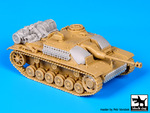 1\72 Stug III accessories set