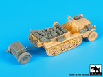 1\72 Sd.Kfz 10 with Sd.Ah.32 accessories set
