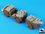 1\35 British  para Jeep before drop accessories set