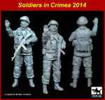 1\35 Soldier in Crimea N°1