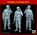 1\35 Soldier in Crimea set
