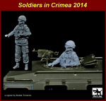 1\35 Soldier in Crimea N°3 Gaz Tiger gunner
