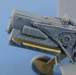 Bf.109 F2/4 Exterior set Photoetched for Zvezda model kit