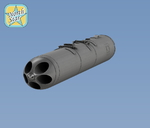 Soviet 5-tube launchers B-13L, 2 pcs, decal
