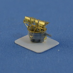 Set of 4 pcs. Royal NAVY HACS Mark IV Director with Type 285 Radar. Resin and PE parts