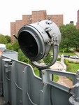 Set of 10 pcs. US NAVY searchlights 12 inch.