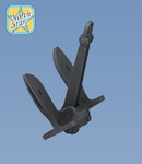 Set of 24 pcs. US Navy Stockless Anchor