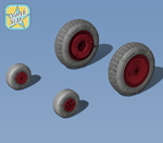 Wheels set for Ka-26 No mask series