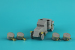 PE set for Master Box set British Armoured car Austin MkIV