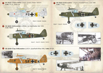 Henschel Hs 126 Scale 1/72 Wet decals.