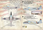 Lockheed F-80 Shooting Star  Scale 1/72 Wet decals.