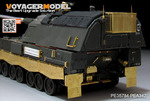 Modern German PzH2000 SPH w/ADD-ON Amoured basic(atenna base include)(For For MENG TS-019)
