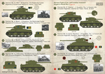 Sherman Tanks of the 2nd Canadian Armoured Brigade 1/35