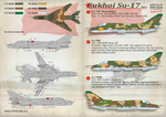 Sukhoi Su-17 Part 1  Wet decal