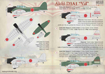 Aichi D3A1 Val  Wet decal
