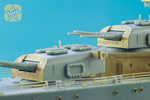 Detail set for USS Indianapolis Academy kit. PE + resin parts