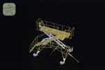 Tu-22 M3 Board ladder set - 2 pcs, PE + resin