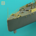 Detail set for A86 Torpedoboot Mirage Hobby model kit