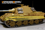 WWII German King Tiger Schurzen (For TAMIYA35164 35169 35252)