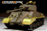 WWII US M4A3E8 Sherman Fenders/Track Cover (For TAMIYA 35346)