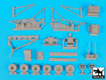 Aircraft crash handling and salvage crane compl.kit