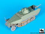 Sd.Kfz.251 ausf D with Hotchkiss turret conv.set