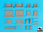 1\35 4X4 MRAP accessories set