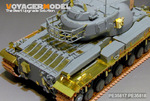 British  Conqueror  MK.II  Heavy Tank MK2 basic(smoke discharger include)(For DRAGON 3555)