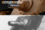 WWII German 150mm StuH 43 Gun Barrel (Brumbar Early Ver.)(For All)