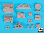 1/35 Otter light reconnaissance car accessories set