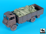 1/35 Bedford QLT troop carrier accessories set