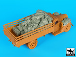 1/35 German army truck G917 T accessories set