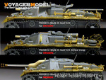 WWII German StuG.III Ausf.A-D fenders(For DRAGON)