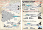Grumman F-14 Tomcat Part 1 In the complete set 1,5 sheets Wet decal